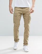 Esprit Cargo Trouser In Slim Fit