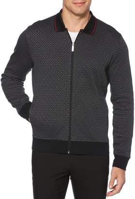 Perry Ellis Big Tall Regular-Fit Printed Cotton-Blend Jacket
