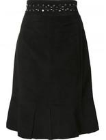 Proenza Schouler studded mid length skirt