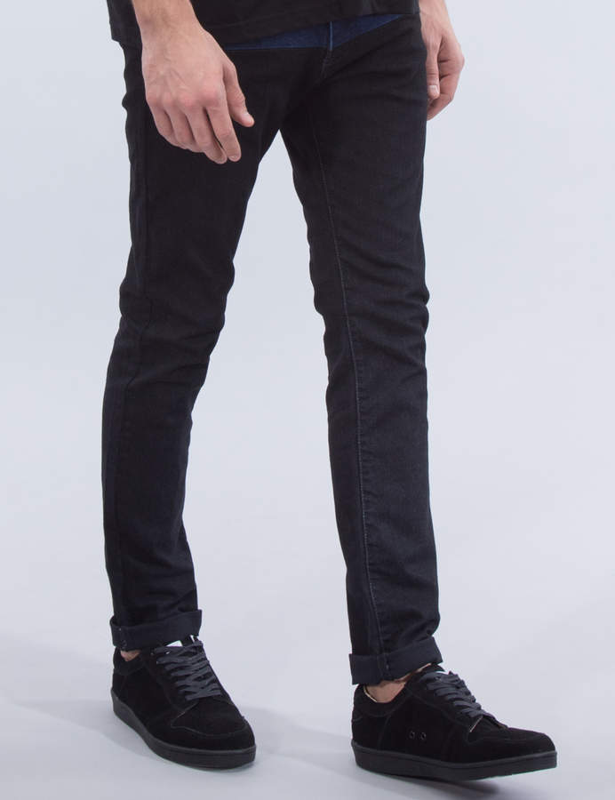 Kidill Two Tone Patch Slim Jeans