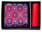 Ted Baker Randy Medallion Silk Tie & Pocket Square Set