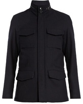Ermenegildo Zegna Saharan Wool-blend Jacket