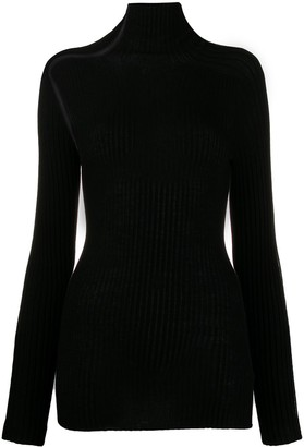 Victoria Beckham Open Knit Details Top
