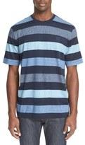 Paul & Shark Stripe Crewneck T-Shirt