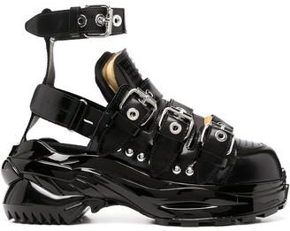 Maison Margiela Buckle-Fastening Boots
