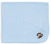 Little Me Infant Boys' Star Monkey Receiving Blanket