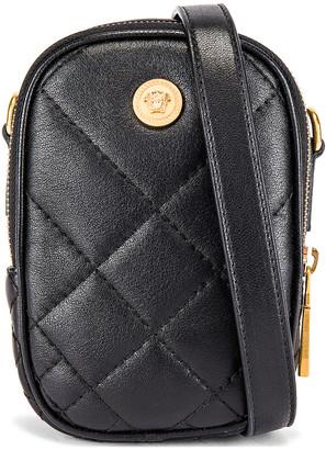 Versace Clutch in Black & Gold | FWRD
