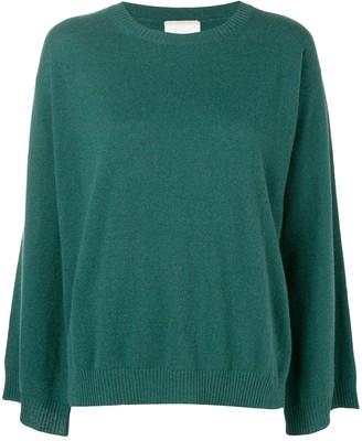 Fine Edge cashmere sweater