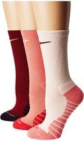 Nike Dry Cushion Crew Training Socks 3-Pair Pack Women's Crew Cut Socks Shoes