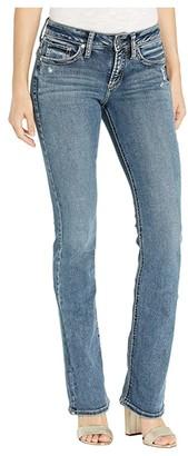 Silver Jeans Co. Suki Mid-Rise Curvy Fit Slim Bootcut Jeans in Indigo L93606SDG366 (Indigo) Women's Jeans