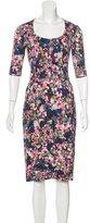 Erdem Floral Knit Dress