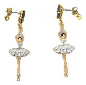 Les Nereides Silver Silver Earrings