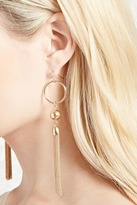Forever 21 FOREVER 21+ Drop Tassel Earrings