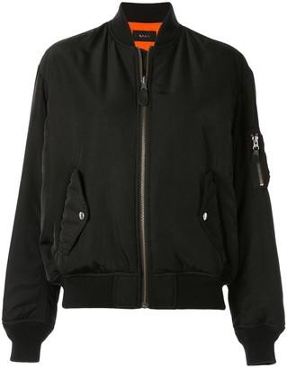 G.V.G.V. zipped-up bomber jacket