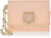Jimmy Choo LOCKETT MINAUDIERE Camellia Acrylic Clutch Bag