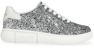 Kate Spade Lift Glitter Sneakers