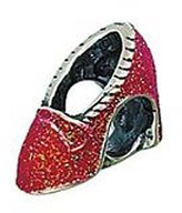 Zable Ruby Slipper Entertainment Sterling Silver Charm