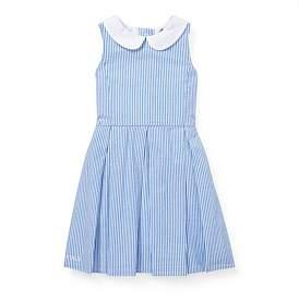 Polo Ralph Lauren Seersucker Fit-And-Flare Dress (5-7 Years)
