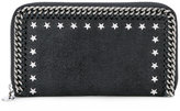 Stella McCartney star studded Falabella wallet - women - Polyester/metal - One Size
