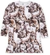 Molo Cat Print T-Shirt Dress