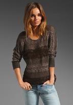 Hayden Dolman Sleeve Sweater