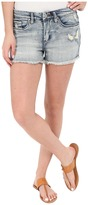 Blank NYC High Rise Denim Distressed Shorts Women's Shorts