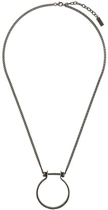 Saint Laurent Horseshoe Short Necklace