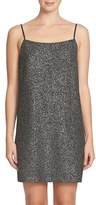 CeCe Women's Mia Foil Knit Slipdress