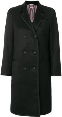 Thom Browne Double-Breasted Midi Coat