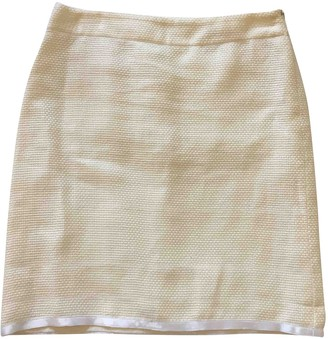 Dolce & Gabbana Ecru Cotton Skirt for Women