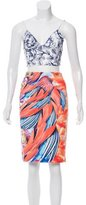 Clover Canyon Digital Print Skirt Set w/ Tags