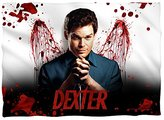 Dexter Blood Never Lies Poly 20X28 Pillow Case White One Size