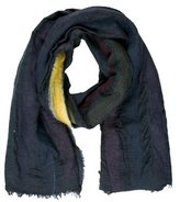 Faliero Sarti Striped Fringed Scarf