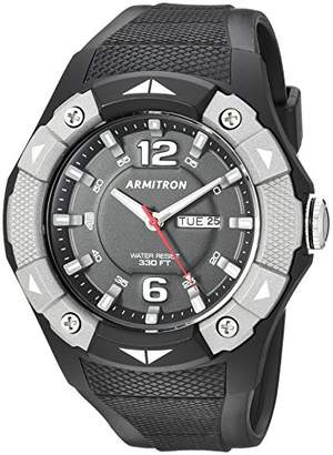 Armitron Sport Men's 20/5292GBK Day/Date Function Resin Strap Watch
