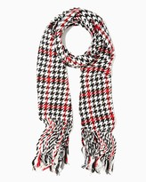 Charming charlie Cambridge Houndstooth Long Scarf