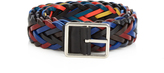 Paul Smith Woven-leather belt