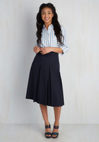 Appareline Inc Utmost Allure Skirt in Navy