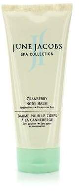 June Jacobs NEW Cranberry Body Balm (Unboxed) 207ml Womens Skin