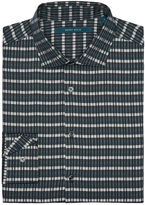 Perry Ellis Multi Color Jacquard Stripe Shirt