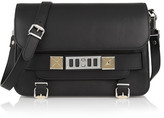 Proenza Schouler The Ps11 Classic Textured-leather Shoulder Bag - Black