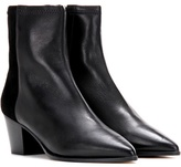 Isabel Marant Dabbs Leather And Suede Ankle Boots