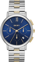 DKNY Willoughby Stainless Steel Two-Tone Chronograph Watch