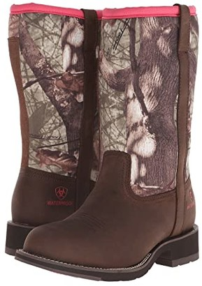 Ariat Fatbaby All Weather (Palm Brown/Camo Neoprene) Cowboy Boots