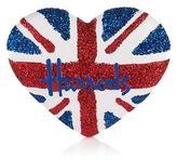 Harrods Union Jack Glitter Magnet