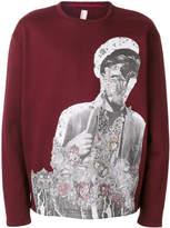 Antonio Marras floral motif sweatshirt