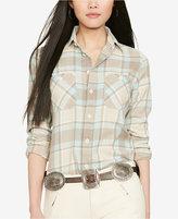 Polo Ralph Lauren Twill Plaid Shirt