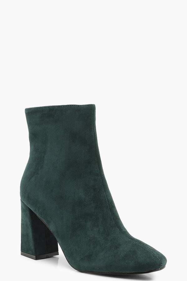dacd3adc077 Green Block Heel Boots - ShopStyle UK