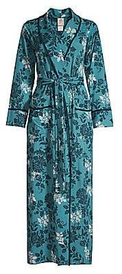 Jonquil Women's Olivia French Terry Brocade Robe