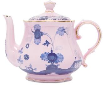 Ginori 1735 - Oriente Italiano Porcelain Teapot - Pink Multi