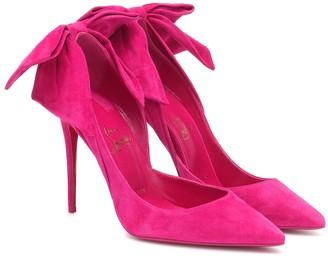 louboutin pink pumps